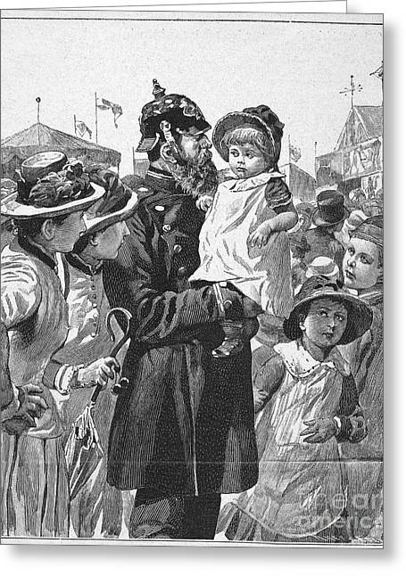 Policeman, 1885 Greeting Card by Granger