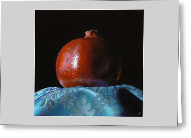 Pomegranate Number 2 Greeting Card by Jeffrey Hayes