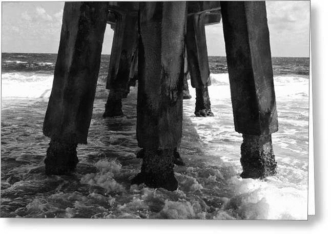 Pompano Pier Greeting Card