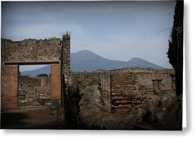 Pompei Greeting Card by Kevin Flynn