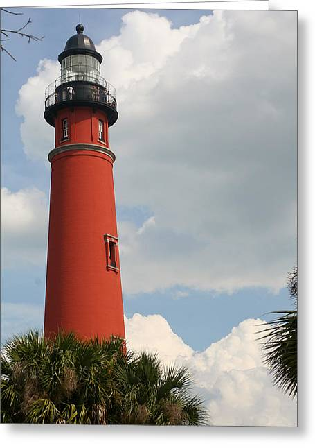 Ponce Inlet Lighthouse II Greeting Card