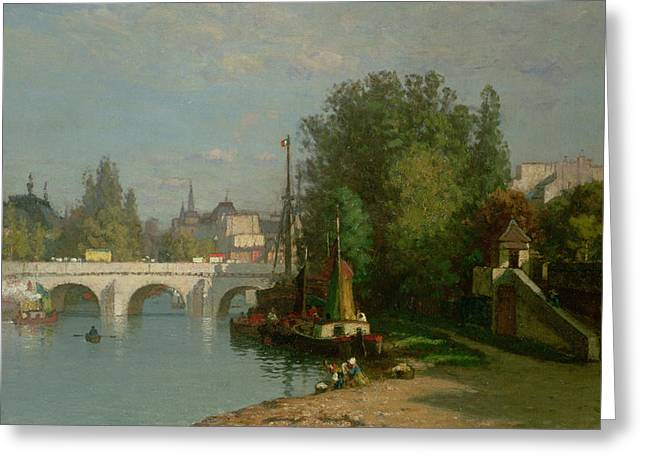 Pont Du Carrousel Greeting Card