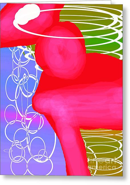 Ponyrose Greeting Card by Toteto Toteto