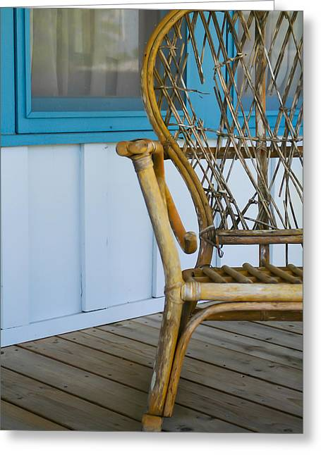Porch Chair Greeting Card