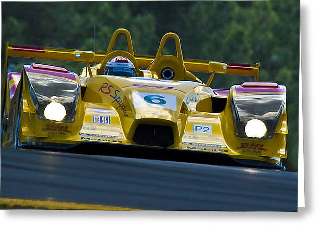 Porche Rs Spyder  Greeting Card