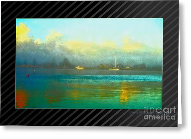 Port Art Greeting Card by James  Dierker