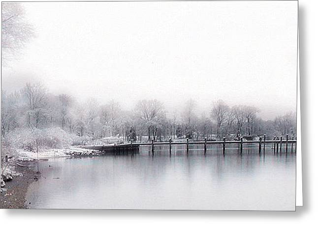 Port Tobacco River Greeting Card
