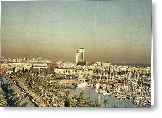 Port Vell - Barcelona Greeting Card