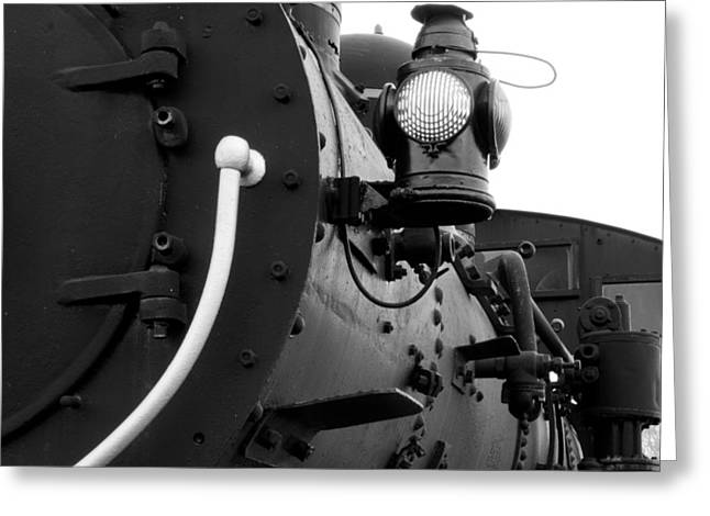 Porter Steam Engine Greeting Card