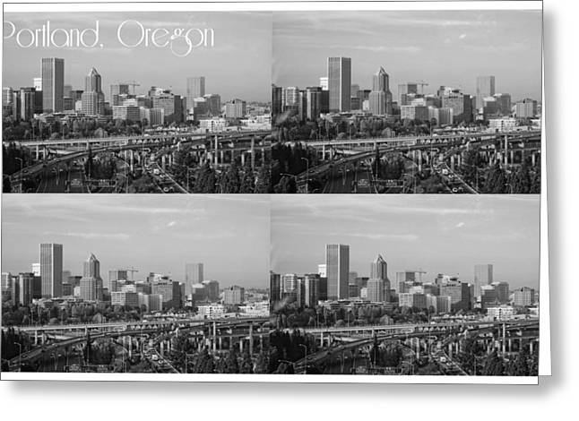 Portland  Oregon Greeting Card