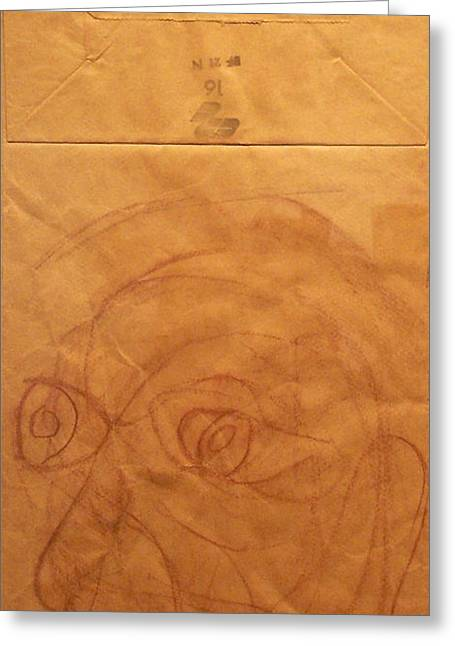 Portrait Of Picasso Greeting Card by John Neumann