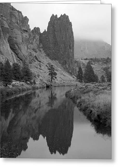 Portrait Of Smith Rock Greeting Card
