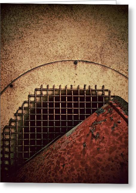 Post Industrial Wonderland Greeting Card by Odd Jeppesen