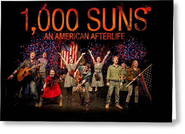 Poster For 1000 Suns - An American Afterlife Greeting Card