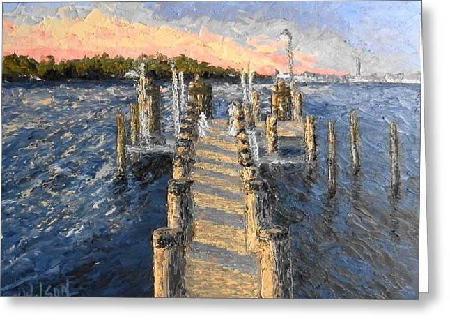 Potomac Sunset Greeting Card
