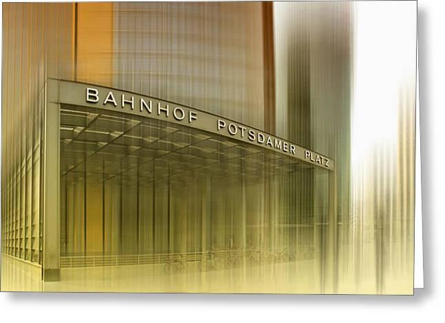 Potsdamer Platz Berlin I Greeting Card