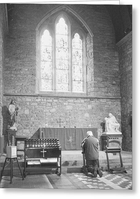 Greeting Card featuring the photograph Prayer by Hugh Smith