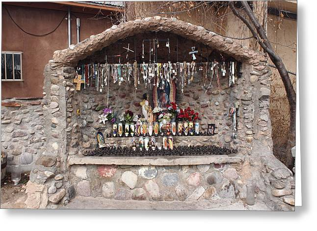 Prayers At Chimayo  Greeting Card