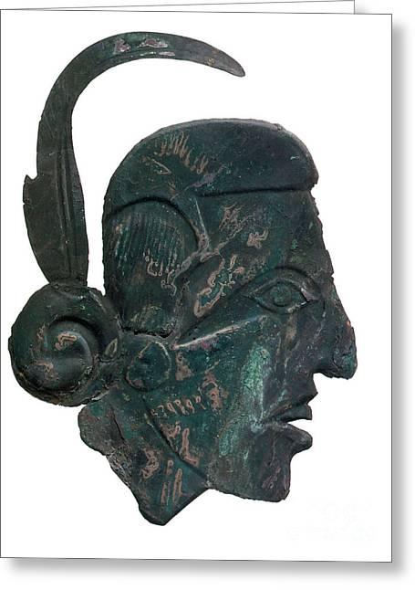 Pre-columbian Copper Ornament Greeting Card