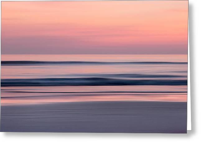 Predawn Surf I Greeting Card