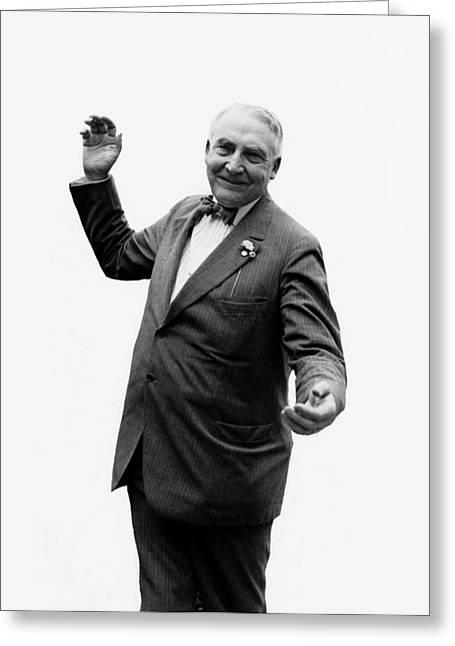 President Warren G Harding - C 1920 Greeting Card