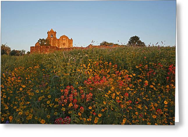 Greeting Card featuring the photograph Presidio La Bahia 3 by Susan Rovira