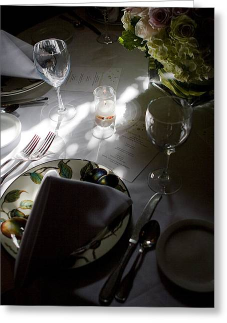 Pretty Place Setting Greeting Card