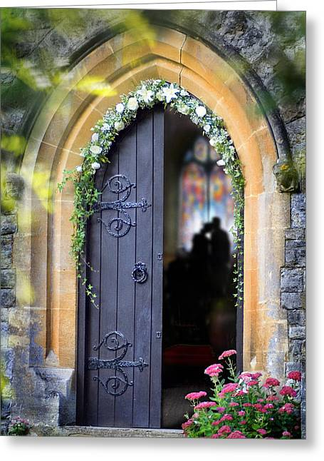 Pretty Portal  Greeting Card