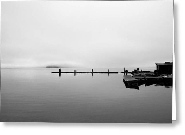 Priest Lake Morning Greeting Card