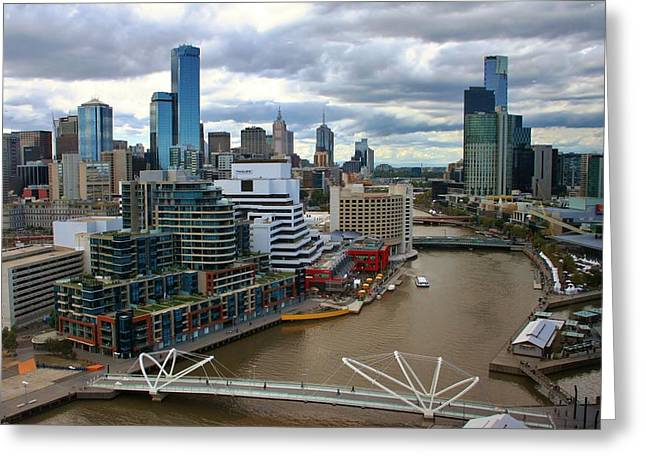 Primary Colors Of Melbourne Greeting Card