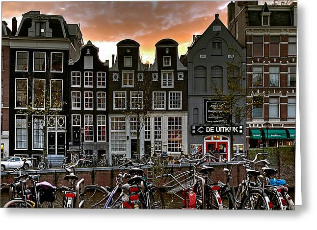 Prinsengracht 458. Amsterdam Greeting Card