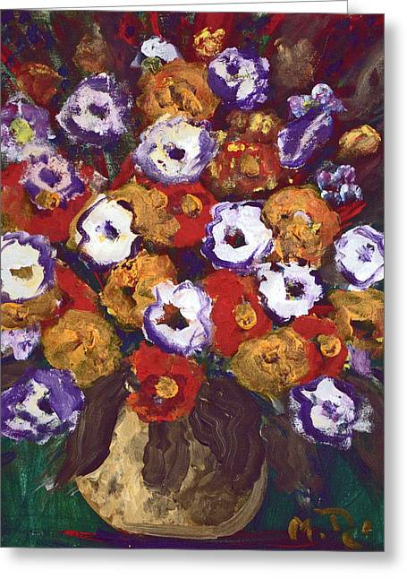 Profusion Of Blooms Greeting Card