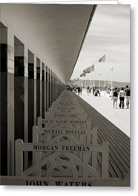 Promenade Des Planches Greeting Card by RicardMN Photography