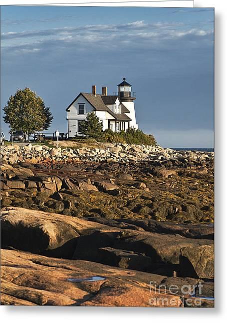 Prospect Harbor Lighthouse Greeting Card