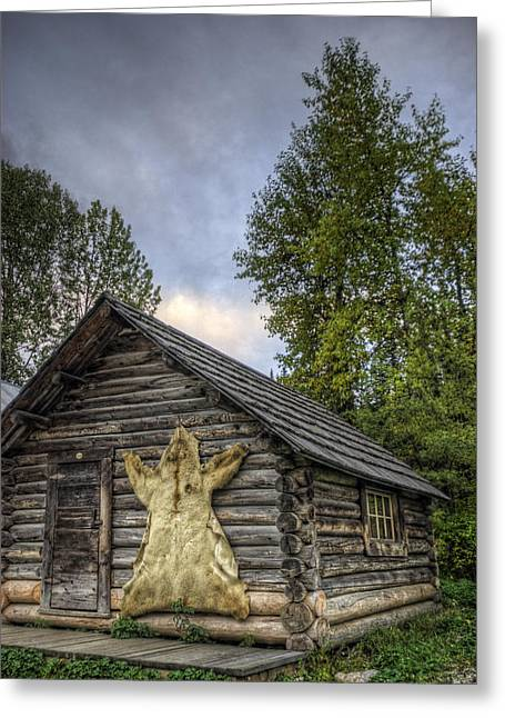 Prospector's Cabin Greeting Card