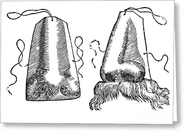 Prosthetic Noses, 1628 Greeting Card