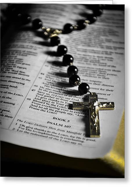 Psalm 107 Greeting Card by Anthony  Birchman