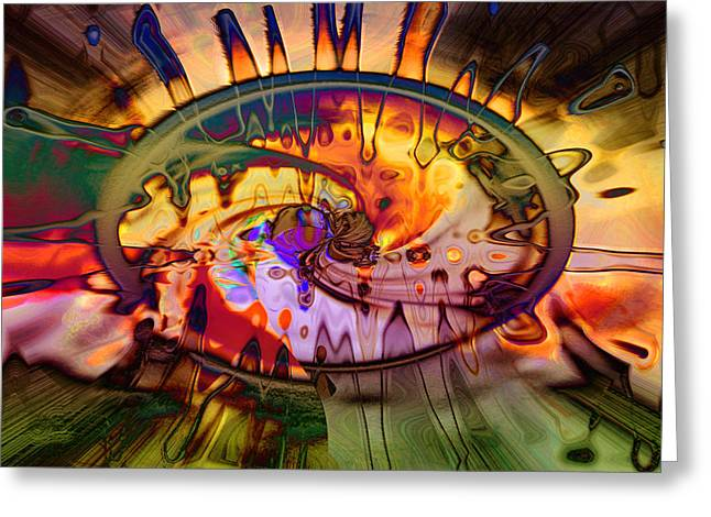 Psychedelic Daze Greeting Card
