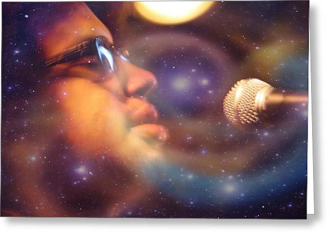 Psychedelic Soul 8 Greeting Card by Dylan Chambers