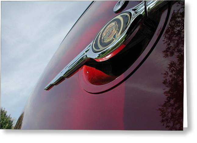 Pt Cruiser Emblem Greeting Card by Thomas Woolworth