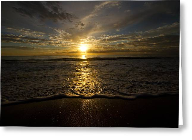 Puerto Rican Sunset II Greeting Card by Tim Fitzwater