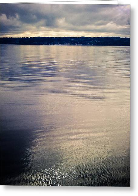 Puget Reflections Greeting Card