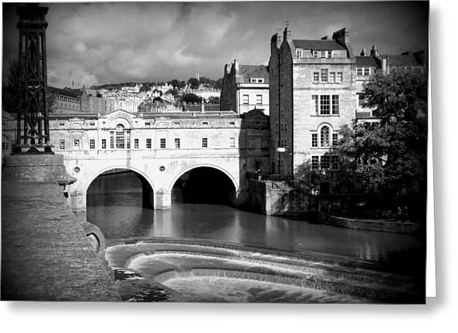 Pulteney Bridge Greeting Card