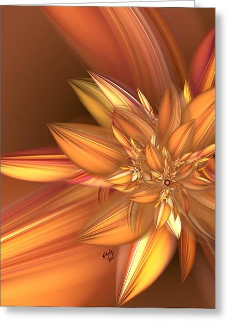 Pumpkin Spice Greeting Card by Karla White