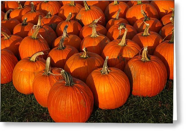Pumpkin Strike Greeting Card
