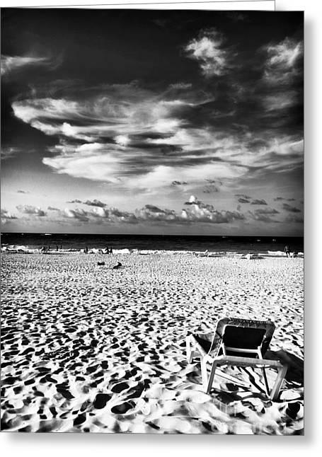 Punta Cana Lounge Greeting Card by John Rizzuto