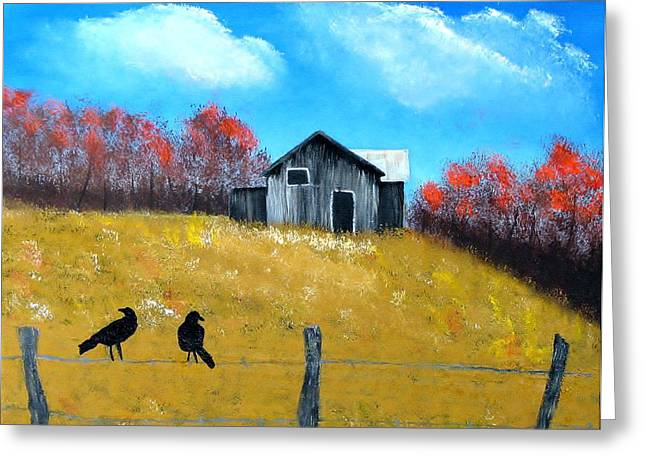 Pure Country Greeting Card by Linda Brown