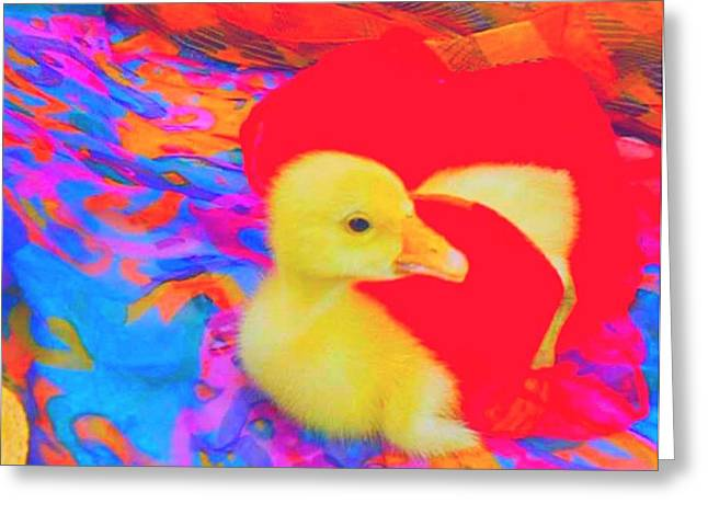Greeting Card featuring the painting Pure Dodo by Bogdan Floridana Oana