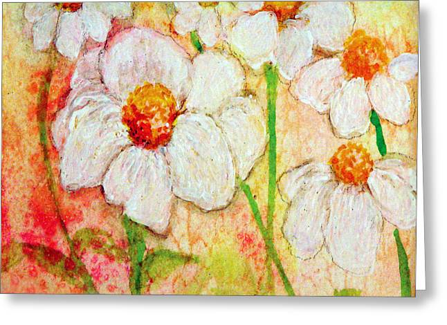 Purity Of White Flowers Greeting Card by Ashleigh Dyan Bayer