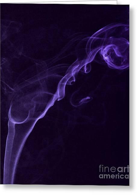 Purple Haze Greeting Card by Paul Ward